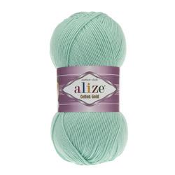 Пряжа Alize Cotton gold (55% хлопок, 45% акрил) 5х100г/330м цв.015 аквамарин