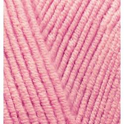 Пряжа Alize Cotton gold (55% хлопок, 45% акрил) 5х100г/330м цв.033 ярк.розовый