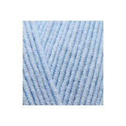 Пряжа Alize Cotton gold (55% хлопок, 45% акрил) 5х100г/330м цв.040 голубой
