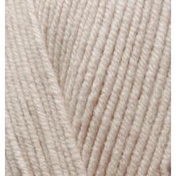 Пряжа Alize Cotton gold (55% хлопок, 45% акрил) 5х100г/330м цв.067 молочно-бежевый