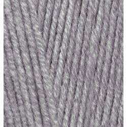Пряжа Alize Cotton gold (55% хлопок, 45% акрил) 5х100г/330м цв.087 угольный серый