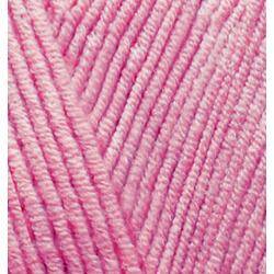 Пряжа Alize Cotton gold (55% хлопок, 45% акрил) 5х100г/330м цв.098 розовый