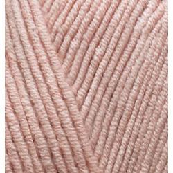 Пряжа Alize Cotton gold (55% хлопок, 45% акрил) 5х100г/330м цв.161 пудра