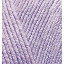Пряжа Alize Cotton gold (55% хлопок, 45% акрил) 5х100г/330м цв.166 лиловый