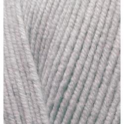Пряжа Alize Cotton gold (55% хлопок, 45% акрил) 5х100г/330м цв.200 серый