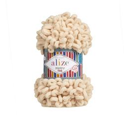 Пряжа Alize Puffy Fine (100% микрополиэстер) 5х100г/14м цв.310 шампань