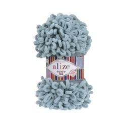 Пряжа Alize Puffy Fine (100% микрополиэстер) 5х100г/14м цв.414