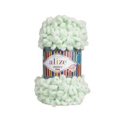 Пряжа Alize Puffy Fine (100% микрополиэстер) 5х100г/14м цв.464 мята