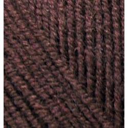 Пряжа Alize Superlana klasik (25% шерсть, 75% акрил) 5х100г/280м цв.026 коричневый
