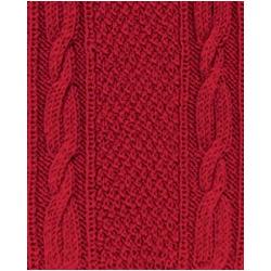 Пряжа Alize Superlana klasik (25% шерсть, 75% акрил) 5х100г/280м цв.056 красный