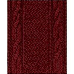 Пряжа Alize Superlana klasik (25% шерсть, 75% акрил) 5х100г/280м цв.057 бордовый