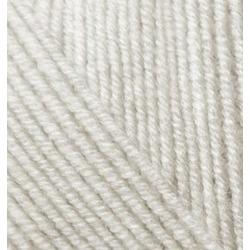 Пряжа Alize Superlana klasik (25% шерсть, 75% акрил) 5х100г/280м цв.208 св. серый меланж