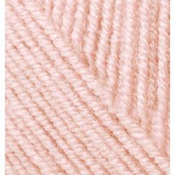 Пряжа Alize Superlana klasik (25% шерсть, 75% акрил) 5х100г/280м цв.271 жемчужно-розовый