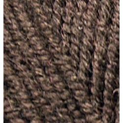 Пряжа Alize Superlana maxi (25% шерсть, 75% акрил) 5х100г/100м цв.026 коричневый