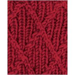 Пряжа Alize Superlana maxi (25% шерсть, 75% акрил) 5х100г/100м цв.056 красный