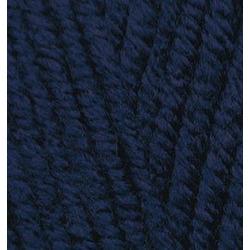Пряжа Alize Superlana maxi (25% шерсть, 75% акрил) 5х100г/100м цв.058 т.синий