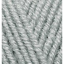 Пряжа Alize Superlana maxi (25% шерсть, 75% акрил) 5х100г/100м цв.087 угольно - серый