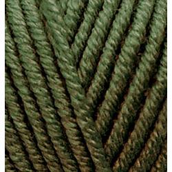 Пряжа Alize Superlana maxi (25% шерсть, 75% акрил) 5х100г/100м цв.241 т.зеленый