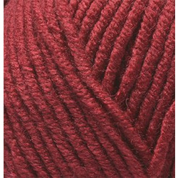 Пряжа Alize Superlana maxi (25% шерсть, 75% акрил) 5х100г/100м цв.390 т.красный