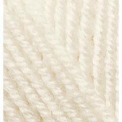 Пряжа Alize Superlana maxi (25% шерсть, 75% акрил) 5х100г/100м цв.599 слоновая кость