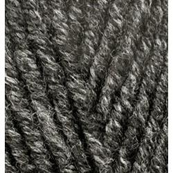Пряжа Alize Superlana maxi (25% шерсть, 75% акрил) 5х100г/100м цв.800 антрацитовый жаспе