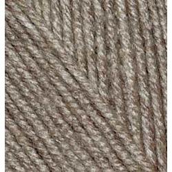 Пряжа Alize Superlana midi (25% шерсть, 75% акрил) 5х100г/170м цв.240 св.коричневый