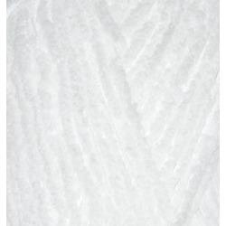 Пряжа Alize Softy (100% микрополиэстер) 5х50г/115м цв.055 белый