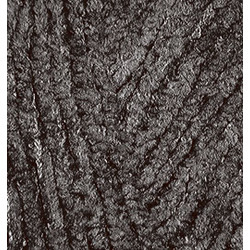 Пряжа Alize Softy (100% микрополиэстер) 5х50г/115м цв.060 черный