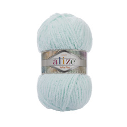 Пряжа Alize Softy Plus (100% микрополиэстер) 5х100г/120м цв.015 водяная зелень