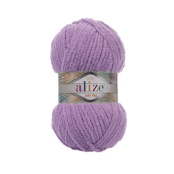 Пряжа Alize Softy Plus (100% микрополиэстер) 5х100г/120м цв.047 багряник