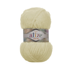 Пряжа Alize Softy Plus (100% микрополиэстер) 5х100г/120м цв.160 медовый