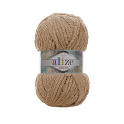 Пряжа Alize Softy Plus (100% микрополиэстер) 5х100г/120м цв.199 бежевый
