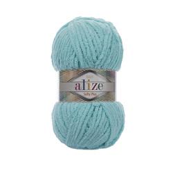 Пряжа Alize Softy Plus (100% микрополиэстер) 5х100г/120м цв.263 бирюзовый