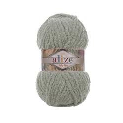 Пряжа Alize Softy Plus (100% микрополиэстер) 5х100г/120м цв.296 серый