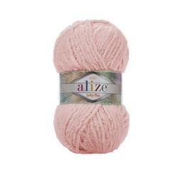 Пряжа Alize Softy Plus (100% микрополиэстер) 5х100г/120м цв.340 св.розовый