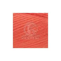 Пряжа Камтекс Бамбино (35% шерсть меринос, 65% акрил) 10х50г/150м цв.116 коралл неон