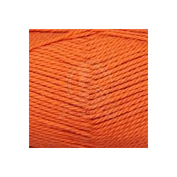 Пряжа Камтекс Дворянская (40% шерсть, 60% акрил) 10х100г/160м цв.068 апельсин