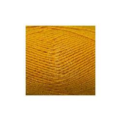 Пряжа Камтекс Праздничная (48% кашмилон, 48% акрил, 4% метанит) 10х50г/160м цв.104 желтый