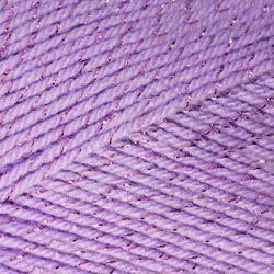 Пряжа Камтекс Праздничная (48% кашмилон, 48% акрил, 4% метанит) 10х50г/160м цв.180 сирень св.
