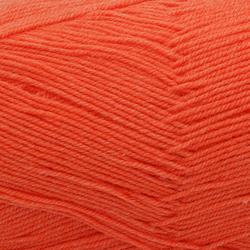 Пряжа Пехорка Австралийский меринос (95% мериносовая шерсть, 5% акрил высокообъемный) 5х100г/400м цв.396 настурция
