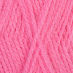 Пряжа Пехорка Ангорская тёплая (40% шерсть, 60% акрил) 5х100г/480м цв.011 ярк.розовый