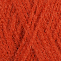 Пряжа Пехорка Ангорская тёплая (40% шерсть, 60% акрил) 5х100г/480м цв.189 ярк.оранжевый