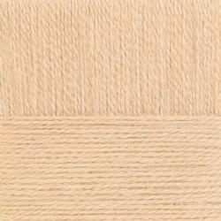 Пряжа Пехорка Ангорская тёплая (40% шерсть, 60% акрил) 5х100г/480м цв.442 натуральный