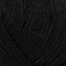 Пряжа Пехорка Бисерная (100% акрил) 5х100г/450м цв.002 черный
