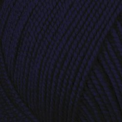 Пряжа Пехорка Бисерная (100% акрил) 5х100г/450м цв.004 т.синий