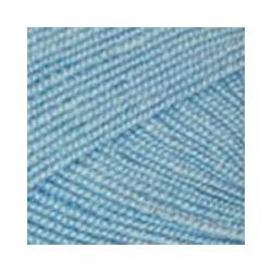 Пряжа Пехорка Бисерная (100% акрил) 5х100г/450м цв.005 голубой