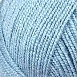 Пряжа Пехорка Бисерная (100% акрил) 5х100г/450м цв.039 серо-голубой