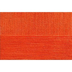 Пряжа Пехорка Бисерная (100% акрил) 5х100г/450м цв.189 ярк.оранжевый