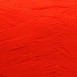 Пряжа Пехорка Бисерная (100% акрил) 5х100г/450м цв.244 алый