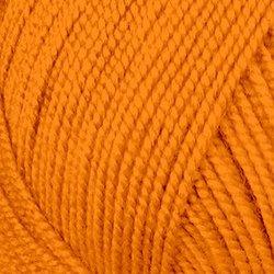 Пряжа Пехорка Бисерная (100% акрил) 5х100г/450м цв.485 Желтооранжевый